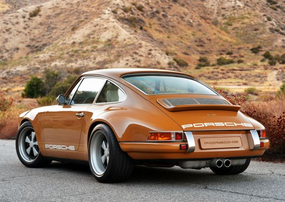 This Burnt Orange Custom Porsche Is What Automotive Perfection Looks Like - Airows