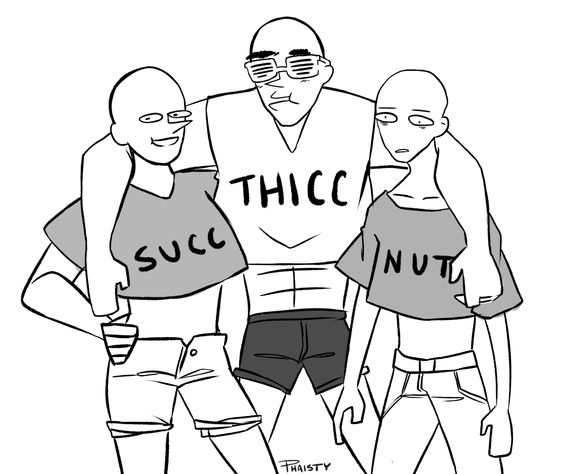 """I wanted to try a """"draw the squad"""" post It became a shitpost I'm so sorry (im not) Alternatively: Tag yourself I'm nut"""
