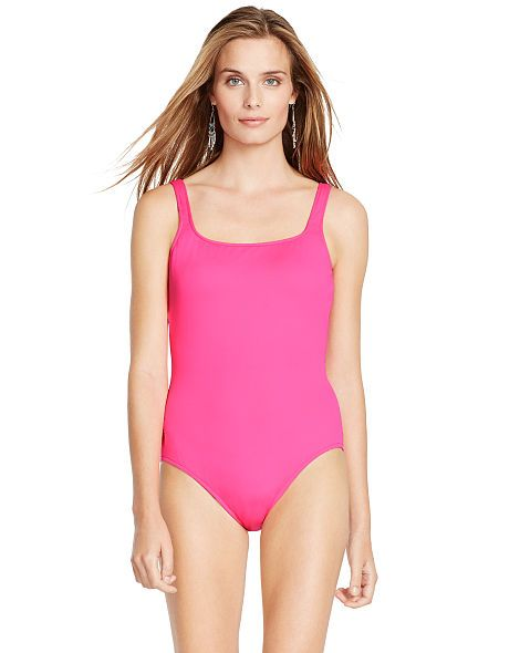 Polo Ralph Lauren Scoop-Back One-Piece - Polo Ralph Lauren Swimsuits - Ralph Lauren France