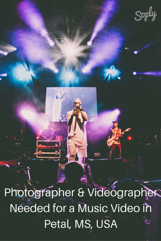 #Photographer & #videographer needed for a #musicvideo in Petal, MS, USA on September 16th. The #video is for a #hiphop #artist, and should have a #southern #vibe. See the #brief and speak to the #client through the pin!