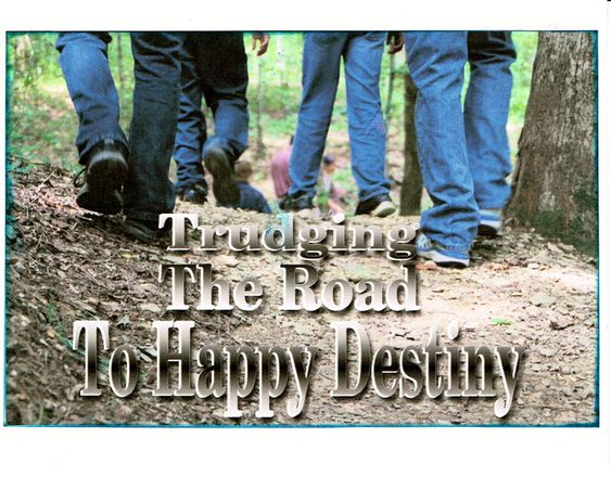 12 Step Greeting card Trudging the Road to Happy Destiny by 12StepUnityGal on Etsy