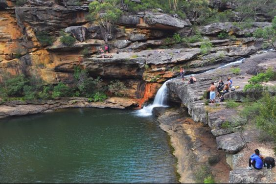 Mermaid Pools near Tahmoor NSW Australia: