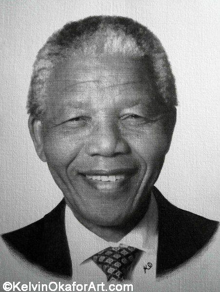 """""""Nelson Mandela"""" by Kelvin Okafor:"""