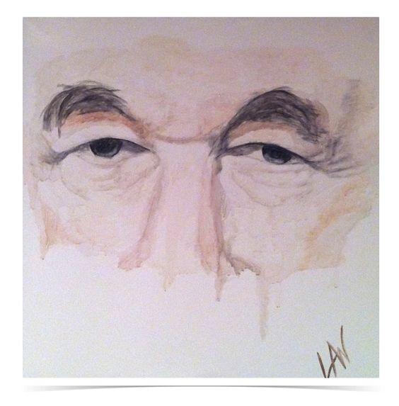 Wise Eyes. My Father...