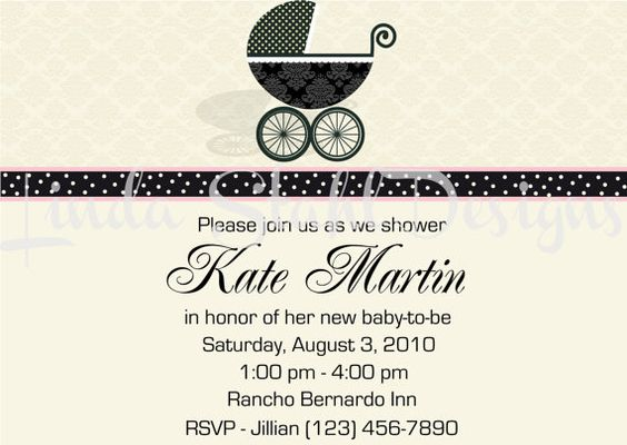Baby Shower Invitation by LStahlDesigns on Etsy, $10.00