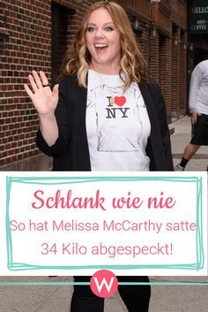 Melissa Mccarthy So Hat Sie 34 Kilo Abgespeckt Diat Tipps
