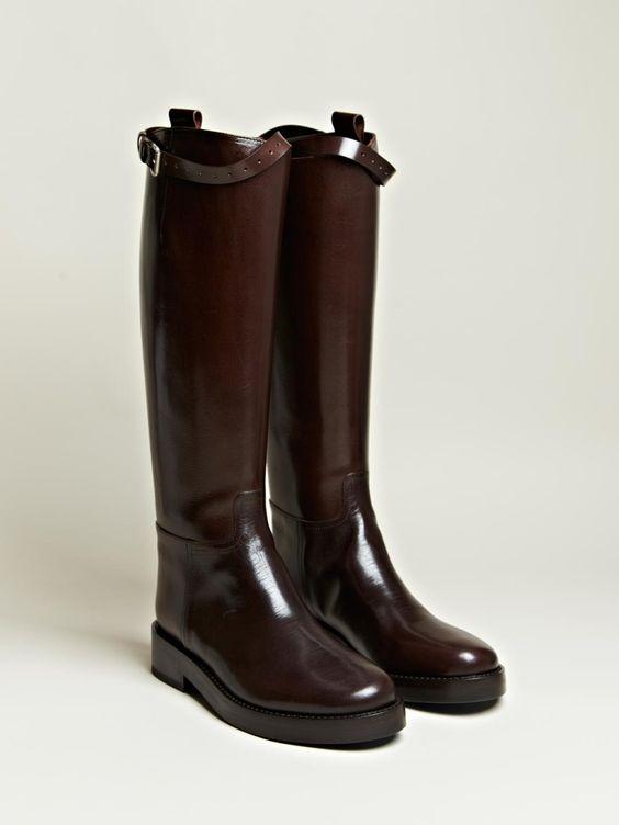Ann Demeulemeester Womens Lucido Long Boots | LN-CC