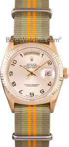 Rolex President Gold Day-Date Champagne Dial - No Sales Tax