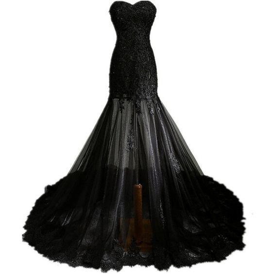 Goth dress lace and vintage gothic on pinterest for Vintage gothic wedding dresses