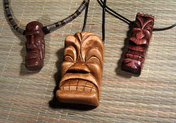 tiki Pendants by ~tflounder  Artisan Crafts / Jewelry