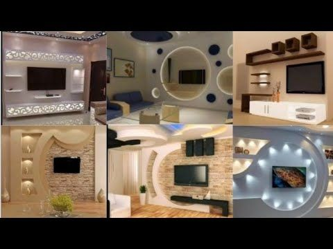 احدث ديكور شاشات بلازما جبس بورد Youtube In 2020 House Styles Home Decor House