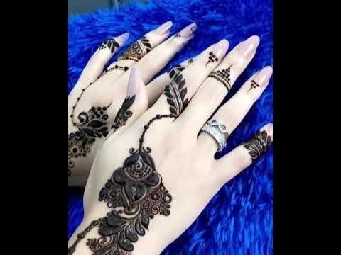 نقش حناء خفيف Youtube Mehndi Designs Henna Hand Tattoo Hand Henna