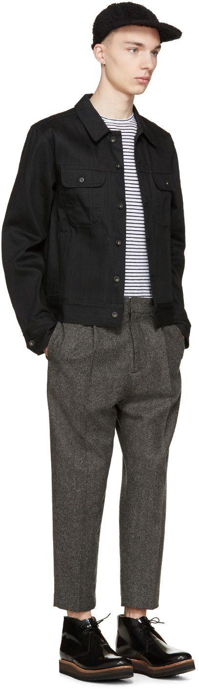 Rag & Bone Black Twill Denim Jacket