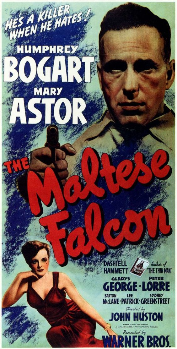 The Maltese Falcon 11x17 Movie Poster (1941) | Pinterest | Other ...