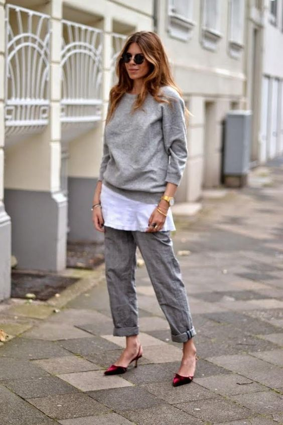 Maja WYH | all grey outfits on blogandthecity.net | @blogandthecity:
