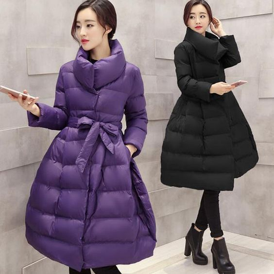 2017 NEW Womens  Coat Winter Jackets Women Black Long Skirt Coat Silm Warm Parka Outerwear Doudoune Femme. Yesterday's price: US $51.24 (42.11 EUR). Today's price: US $47.65 (39.46 EUR). Discount: 7%.