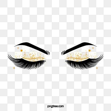 Hand Painted Black Curled Thick Eyelashes Star Eye Makeup Eyes Black And White Hand Painted Eyelash Png Transparent Clipart Image And Psd File For Free Down Cilios Mais Espessos Maquiagem Dos