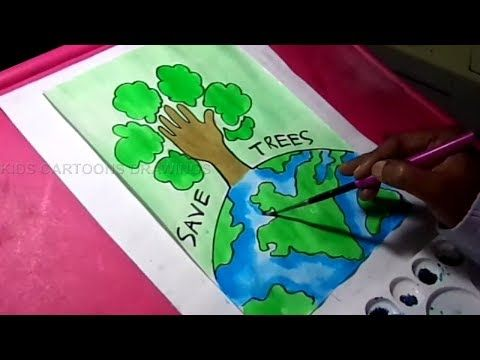 How To Draw Save Trees And Earth Environment Drawing For Kids Youtube Drawing For Kids Environment Drawing Ideas Easy Drawings How to draw save tree drawing   easy save earth drawing for kids subscribe for more videos in this video, i have shown you, drawing on save trees save life in an easy way especially for kids. how to draw save trees and earth