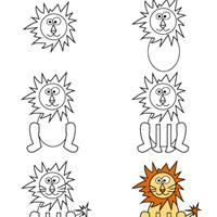 Pinterest le catalogue d 39 id es - Comment dessiner un lion ...