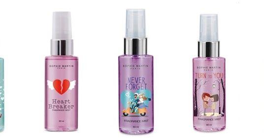 5 Fragrance Mist Sophie Paris Wewangian Parfum Aroma Bunga