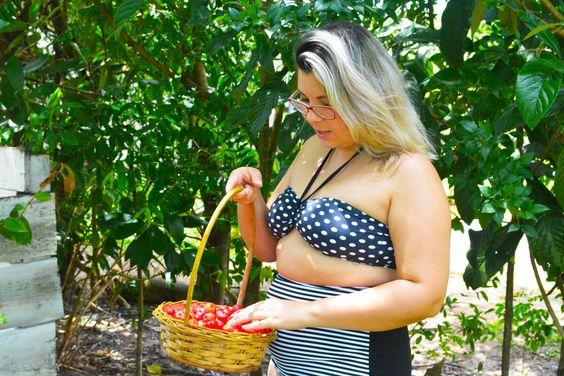 Roupa pra curtir o verão! Top + Calça (hot pant) #swimsuit #roupaprabanho #slowfashion