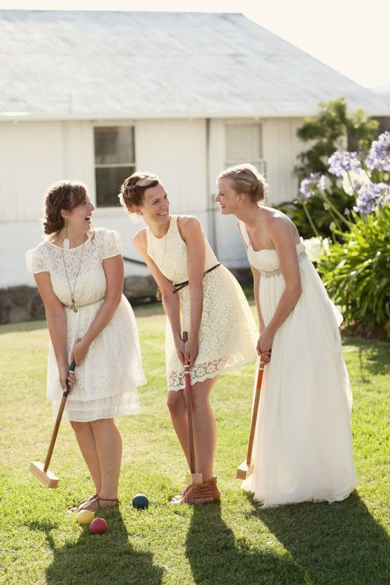 croquet anyone?  Photography by ruthannephotography.com