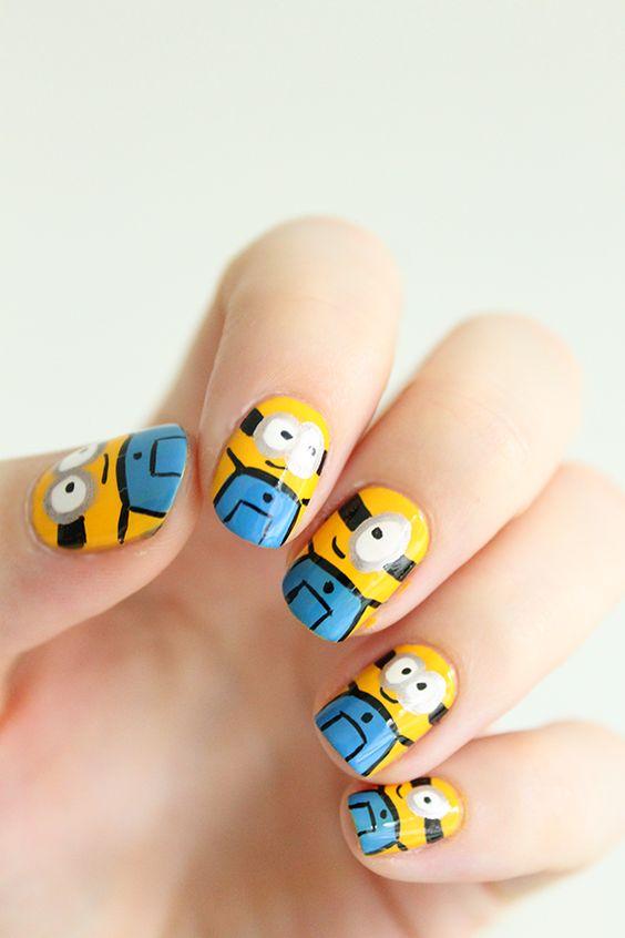 Minions, les ongles