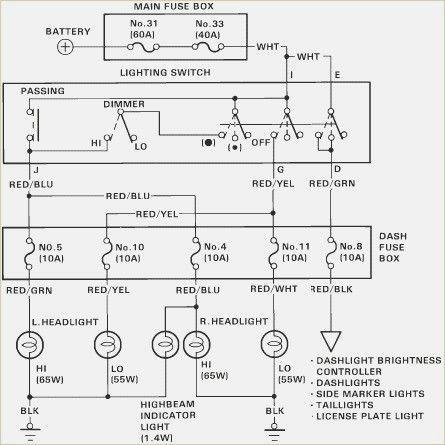 Circuits 1988 Honda Civic Tail Light Wiring Diagram L U2013