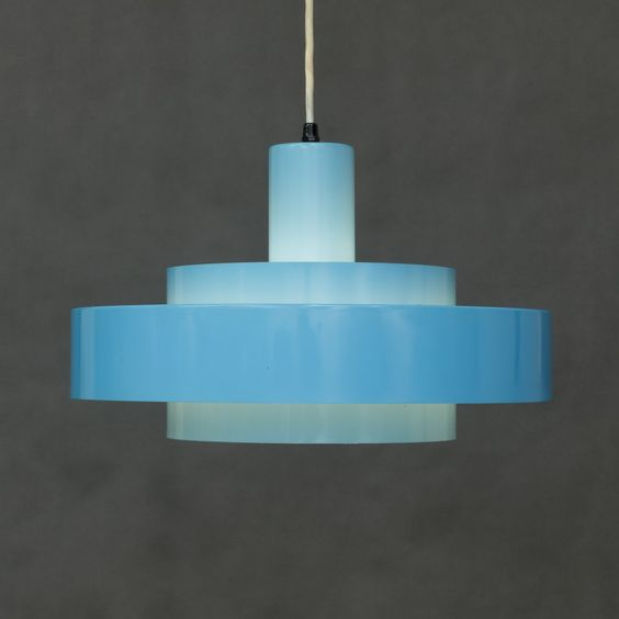Danish Equator Lamp by Jo Hammerborg for Fog & Mørup, 1960s 4