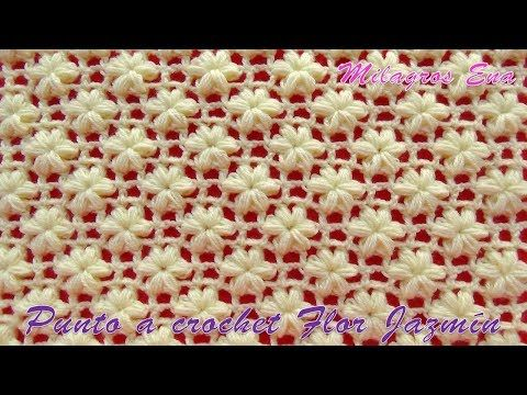 Today You Will Know How To Easily Crochet Stunning Jasmine Flower Stitch This Amazing Stitch Will Let You Design Crochet Patterns Free Crochet Pattern Crochet