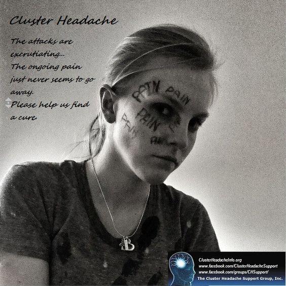Cluster Headache Awareness by Chloe http://chsg.org