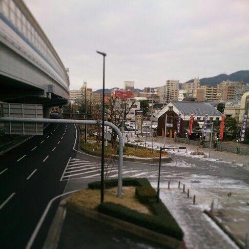 おはようございます。 国道の雪は消えてるけどね。