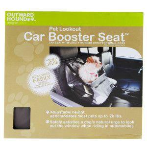 outward hound pet lookout car booster seat summer petssentials dog petsmart products i. Black Bedroom Furniture Sets. Home Design Ideas