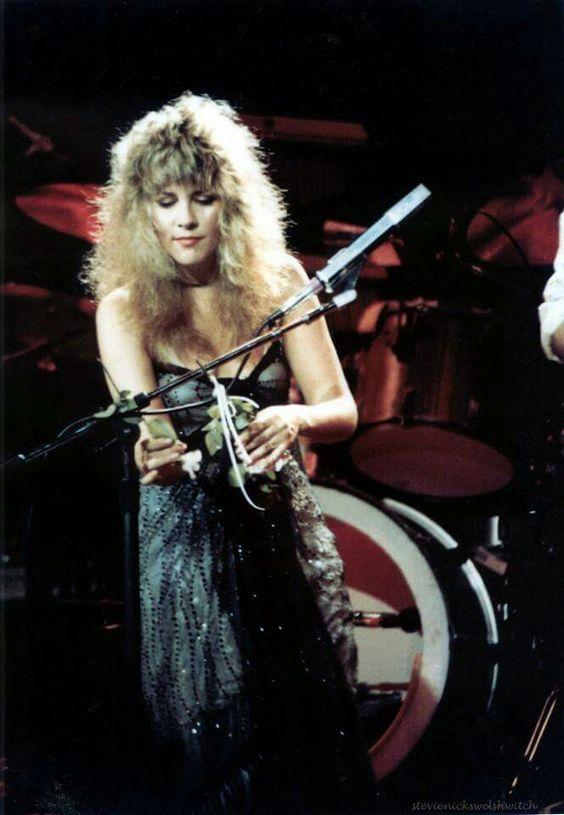 Stevie Nicks of Fleetwood Mac Mirage Tour