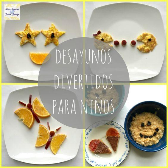 Desayunos divertidos para niños @nesquikusa #Ad