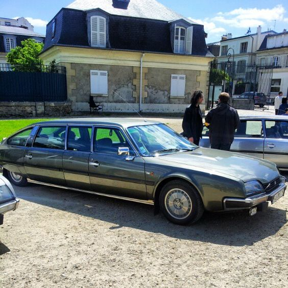 Citroën CX Prestige Rallongée For President Honecker Http