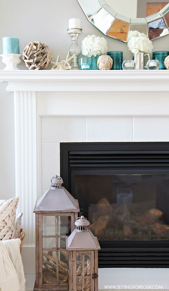 House Tours Fireplaces And Summer On Pinterest