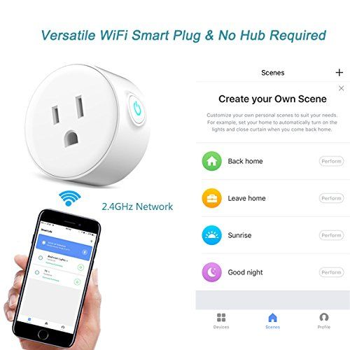 Smart Plug Mini Wireless Voice Control