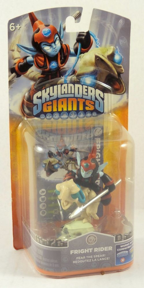 Skylanders Giants Single Character Pack Core Series 2 Fright Rider Undead NIP #Activision