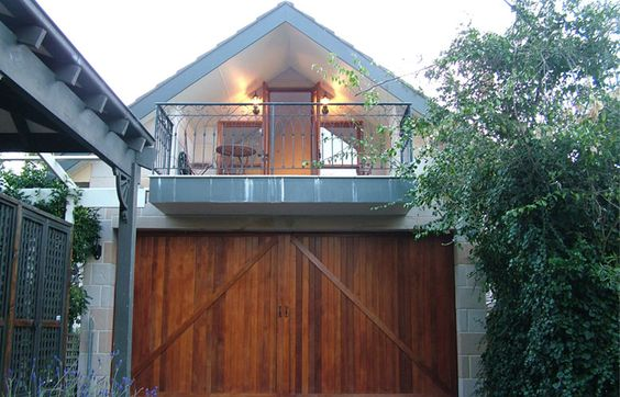 French plumbing and garage on pinterest for Spell balcony