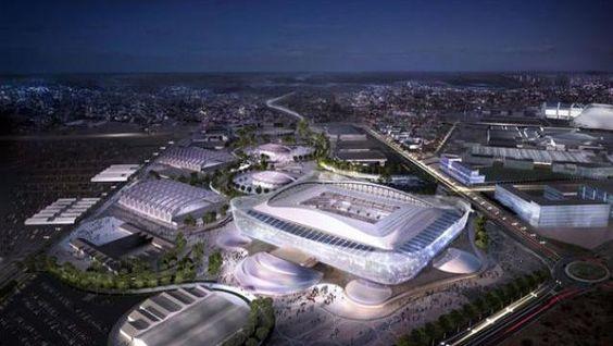 """""""La presentación del diseño del estadio de Al Rayyan supone otro paso importante en nuestros preparativos para albergar la Copa Mundial de la FIFA en 2022. Seguiremos trabajando sin descanso, mientras nuestro proyecto para la competición toma forma sobre el terreno""""."""