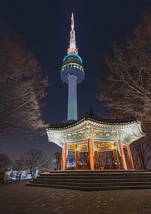 The Namsan Tower Seoul Korea South Korea Seoul Seoul Korea South Korea Travel