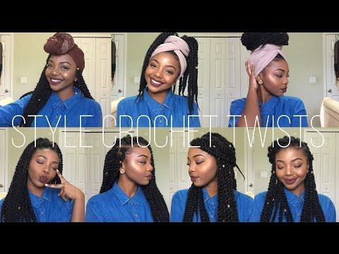Easy Head Wrap Individual Crochet Braids Hairstyles Senegalese Twist And Box Braids N Individual Crochet Braids Crochet Braids Hairstyles Blonde Box Braids