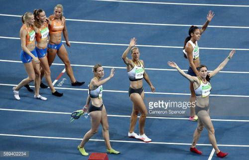 RIO DE JANEIRO, BRAZIL - AUGUST 13: Carolin Schafer of Germany,... #rathluirc: RIO DE JANEIRO, BRAZIL - AUGUST 13: Carolin… #rathluirc