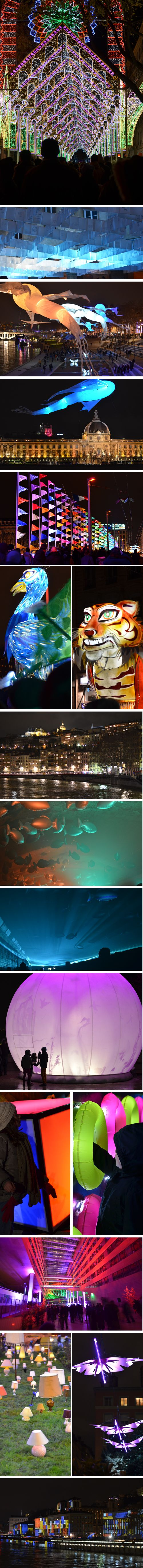 Lyon : la fête des lumières