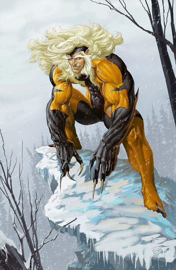 Sabretooth, eclectic version