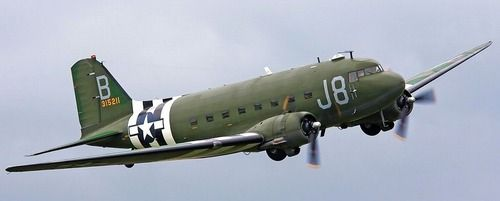 C-47 Skytrain in flight