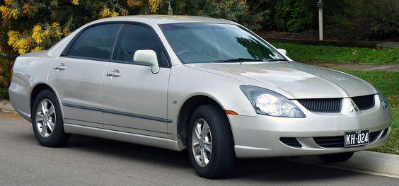 2003 Mitsubishi Magna (TL) LS sedan