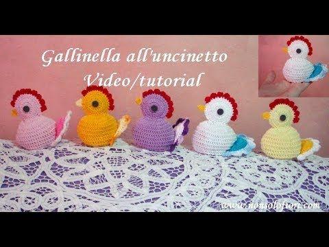 Tutorial: uova amigurumi | How to crochet an egg - YouTube | Idee ... | 360x480