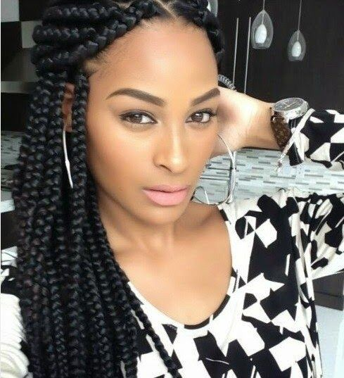 Terrific African American Braids African Americans And Africans On Pinterest Hairstyles For Men Maxibearus